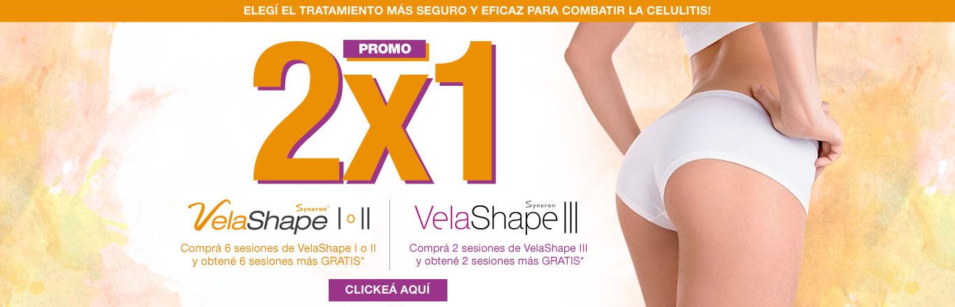 Promo 2x1 VelaShape